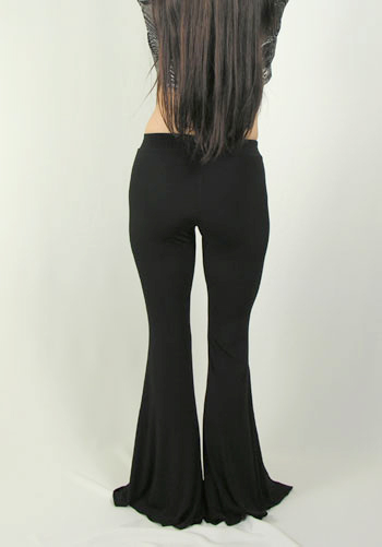 Lycra Flare Bottom Dance Pants