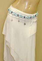 Clearance Beaded Belt w/ Coins