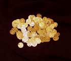 100 Small Old Gold Coins
