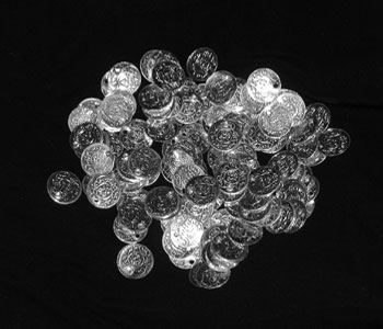 100 Small Silver Coins