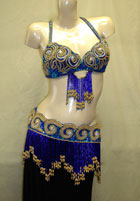 Ornate Egyptian Bra/Belt Set