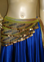 Egyptian Slanted Bead Pattern Scarf