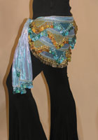 Beaded/Paillette Hipscarf