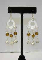 Dangle Earrings with Bells/Jewels