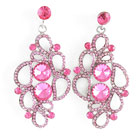 Crystal Dangle Earrings 2