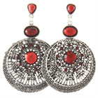 Tribal Earrings Style B Discs
