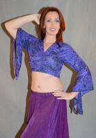 Light Weight Gypsy Sleeve Tie Top