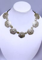 Medallions Necklace & Earrings