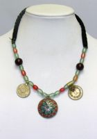 Turkish Beaded Pendant Necklace