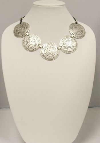 Turkish Metal Circles Necklace