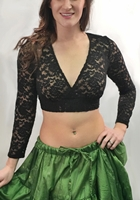 Lace Tie Back Choli