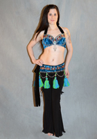 Velvet Tribal  Set w/ Bells/Side Ties